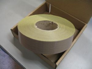 50mm x 30mtrs x 10thou PTFE Glass Woven Tape Self Adhesive